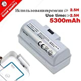 DORLIONA Good Quality 5300mAh 3.7V Replacement Battery for iRobot Braava Jet 240 241 244 Robot Cleaner Parts accessoies not mop