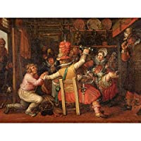 Vinckboons The Peasants Sorrow Painting Unframed Wall Art Print Poster Home Decor Premium ペインティング壁ポスターホームデコ