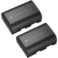 NinoLite LP-E6 LP-E6N 互換 バッテリー キャノン EOS 5Ds R 5D MarkIII 7D MarkII 80D 70D 等対応 lpe6x2_n_t.k.gai