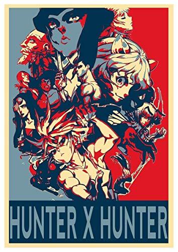 映画シリーズポスターHunter x Hunter Characters ハンターxハンターキャラクター ポスター A3サイズ(42x30cm)、素晴らしい室内装飾品