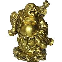 弥勒仏像が肩に銭袋を担ぎ 銅製 招財 金運アップ