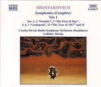 Symphonies 1-4, 6, 7, 12 & 15