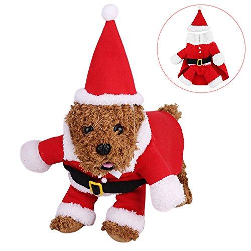 SOROS おしゃれ クリスマス 犬 コスプレ 衣装セット ...