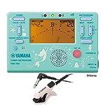 YAMAHA TDM-700DARL チューナー メトロノーム TM-30PK チューナー専用マイクロフォン付き 2点セット