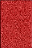 クオバディス ビジネス アンパラ 2018年 手帳 ウィークリー レッド qv00401rd