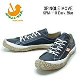 (スピングルムーヴ)SPINGLEMOVE spm110-133 スニーカー SPINGLE MOVE SPM-110/ Dark Blue LL27.5cm DarkBlue