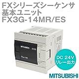 三菱電機 FX3G-14MR/ES FXシリーズシーケンサ 基本ユニット(AC電源・DC入力タイプ) NN