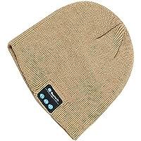 Bluetooth Beanie HatワイヤレススピーカーヘッドセットヘッドフォンイヤホンマイクミュージックヘッドセットキャップBluetooth 4.2ステレオスピーカー&マイクウィンターニット