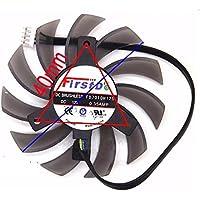 Funeshop R6790 Twin Frozr II N560GTX R6850 N460GTX GTX660 GTX670 GTX680 GTX690用 グラフィックカードファン 冷却ファン FD7010H12S 12V 0.35A 75mm 4Pin