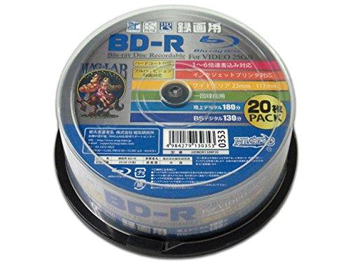 HI-DISC BD-R HDBDR130RP20 (6倍速/20枚)