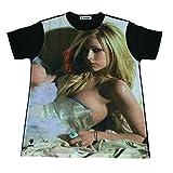 アヴリルラヴィーン セクシー アメリカ パンク ロック 人気 ストリート系 デザインTシャツ おもしろTシャツ メンズTシャツ 半袖 [並行輸入品]