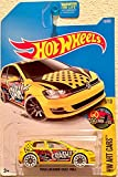Hot Wheels 2017 HW Art Cars Volkswagen Golf MK7 [Yellow] 16/365 [並行輸入品]