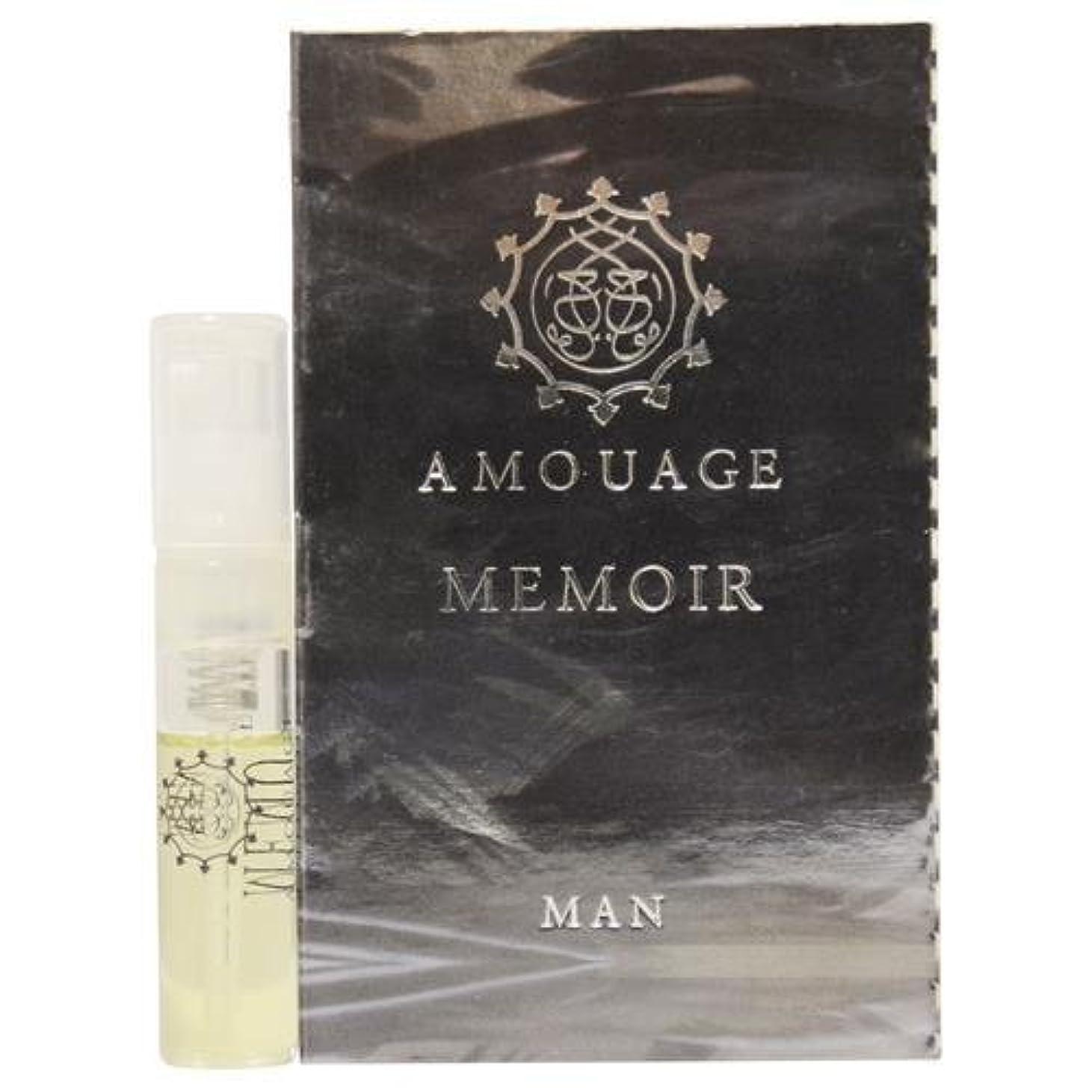 上院主張分布Amouage Memoir Man EDP Vial Sample 2ml (アムアージュ メモアール マン オードパルファン 2ml )[海外直送品]
