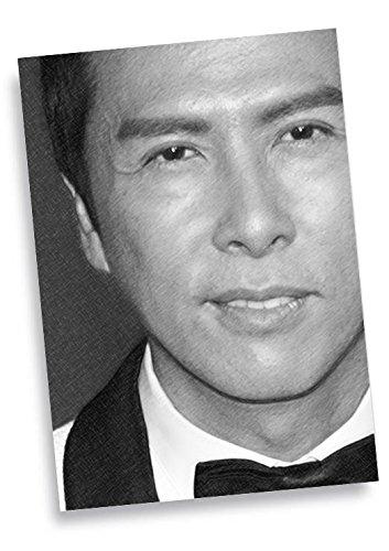 Donnie Yen–ACEOスケッチカード(アーティストが署名# js002