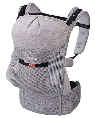 Aprica (アップリカ) 【体重2500gから使える】 抱っこひも コランCTS スマートグレーGR 4WAYタイプ 【疲れにくい腰ベルト & サポートハーネス付】 39552
