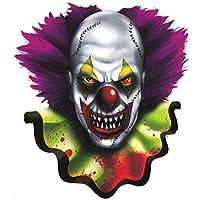 Amscan Creepy Carnival Halloween Trick or Treat Party Cutout Decoration 15 Multicolor [並行輸入品]