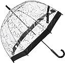 (フルトン) FULTON 長傘 バードケージ 「ハート」 21-152-55800-00 15-65 ブラック 親骨の長さ65cm