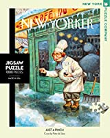 Just a Pinch New Yorker 1000 Pieces Jigsaw Puzzle [並行輸入品]