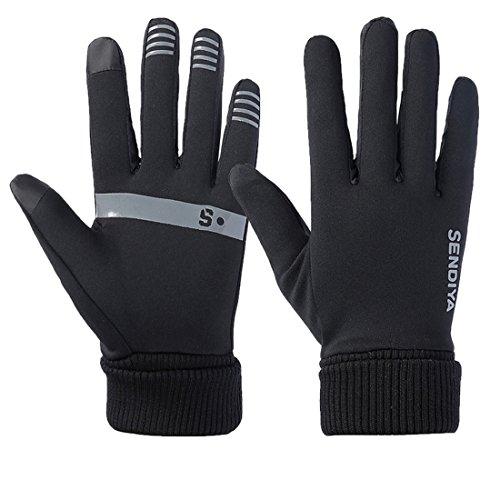 TAKUKA トレッキング グローブ サイクリンググローブ 登山 防寒 防風 スマホ対応 滑り止め フルフィンガー トレイル アウトドア 秋冬用 男女兼用 手袋 (XL)