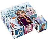 9ピース 子供向けパズル アナと雪の女王2 【キューブパズル】
