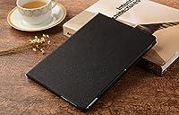 gotor® MediaPad M2 10.1インチ FDR-A01W A03L対応用 フェイクレザー ケース 保護ケース 収納カバー (ブラック)