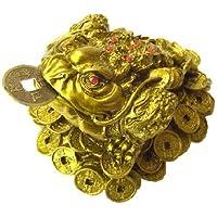 NO-2 風水 三本脚の蛙◆?寿山石?北斗七星カエル(小)◆風水の森限定商品