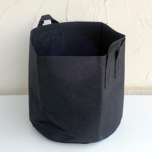 タフガーデンバッグ・厚生地(GB)40H35(不織布栽培容器) 3個セット ノーブランド品