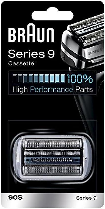 固めるアイスクリームチップBraun 90S シリーズ9電気かみそりのための銀箔カッターヘッドパック 90S [並行輸入品]