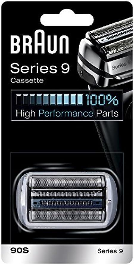 テセウス意気揚々クックBraun 90S シリーズ9電気かみそりのための銀箔カッターヘッドパック 90S [並行輸入品]