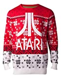 Atari Christmas Jumper Sweater Classic Logo 新しい 公式 Gamer メンズ Knitted Size M