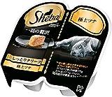 シーバ (Sheba) キャットフード 一皿の贅沢 しっとりテリーヌ 極上ツナ 75g(37.5g×2個入)×6個(まとめ買い)