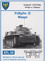 フリウルモデル 1/35 金属可動履帯 II号戦車 ヴェスペ用 金属パーツ ATL-30