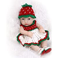 NPKソフトフルボディシリコンビニールRealistic Rebornベビー人形Lifelike新生児女の子人形