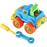 アセンブリカーおもちゃ早期教育&学習構築ブロックMotorcycle Toyキット