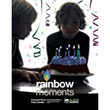 Coloured Flame Party Candles rainbow moments