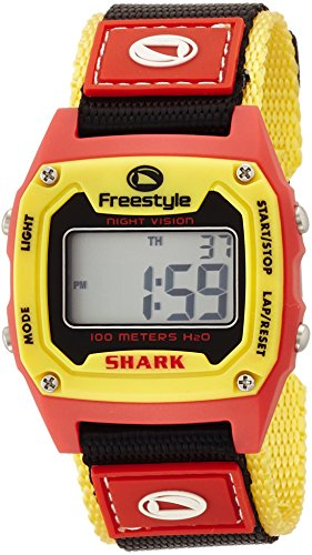 [フリースタイル]Freestyle 腕時計 SHARK CLASSIC NYLON 10気圧防水 レッド×イエロー FS77901ML メンズ 【正規輸入品】