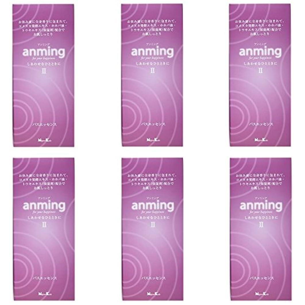 最終的にクアッガ良性【まとめ買い】anming2(アンミング2) バスエッセンス 480ml ×6個