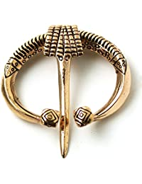 Bronze Irish Viking Penannular Brooch, Clothes Fasteners - Cloak Pin, Shawl Pin, Scarf Pin, Norse Jewelry