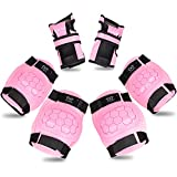 Kids Protection Set Basic,Knee Pads and Elbow Pads with Wrist Guards