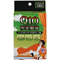 紀陽除虫菊 Q10 雪美肌湯 (スイートシトラスの香り)【まとめ買い10個セット】 N-8369