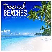 Tropical Beaches 2019 デイリーデスクボックスカレンダー
