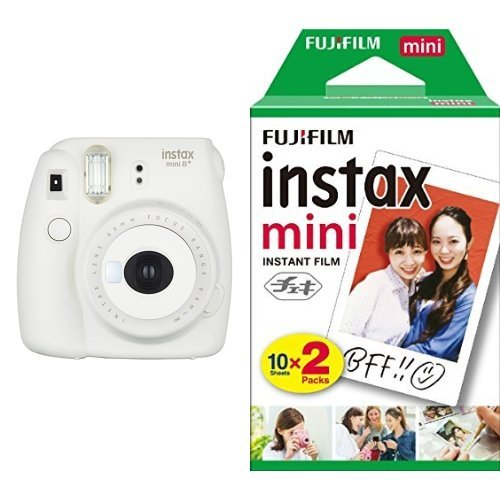 FUJIFILM インスタントカメラ チェキ instax mini8プラス バニラ + フィルムセット