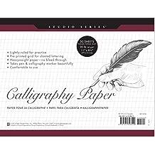 Studio Series Calligraphy Paper Pad: 50 Sheets