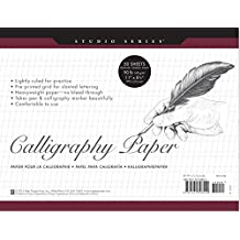 Studio Series Calligraphy Paper Pad (set of 50 heavyweight sheets)