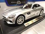 【コモンセ】Maistoマイスト1/18Mercedes-Benz AMG GT Silver Maisto メルセデス ベンツ シルバー マイスト ダイキャストカー ミニカー