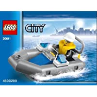 LEGO City: 警察 ボート Dinghy セット 30011 (袋詰め)
