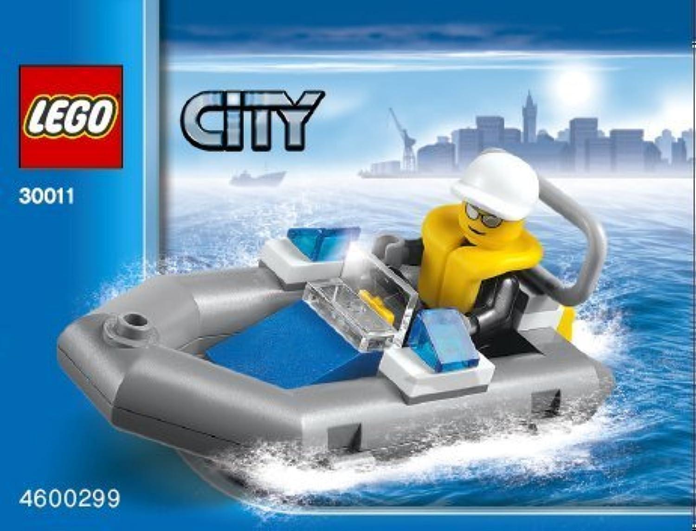 LEGO City: 警察 ボート Dinghy セット 30011 (袋詰め)