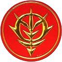 機動戦士ガンダム 6 ジオン軍エンブレム 彫金メタルアートマグネット