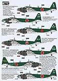 ライジングデカール 1/72 日本海軍 海軍航空技術廠 P1Y 銀河 デカール プラモデル用デカール RSDRD72095