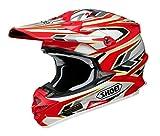 ショウエイ(SHOEI) バイクヘルメット オフロード VFX-W BLOCK-PASS【ブロック・パス】 TC-1 (RED/WHITE) XL (61cm)